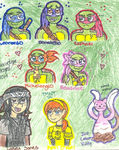 Nick's own turtles plus company by Nicktoons4ever