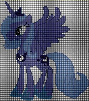 Luna cross stitch pattern by Jackiekie