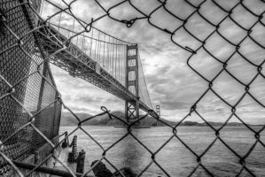 Golden Gate arrested BW by alierturk