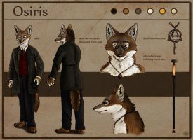 Osiris Ref Sheet by SpottedNymph
