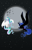 Full Moon by HoofBoot
