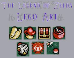 Zelda Lego Art by Sarinilli