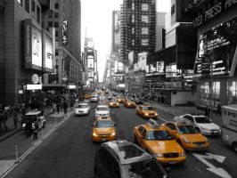 New york yellow cab by desigz