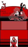 Grell Sutcliff Journal by garrchomped