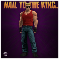 Saints Row The Third: Duke Nukem by badtrane