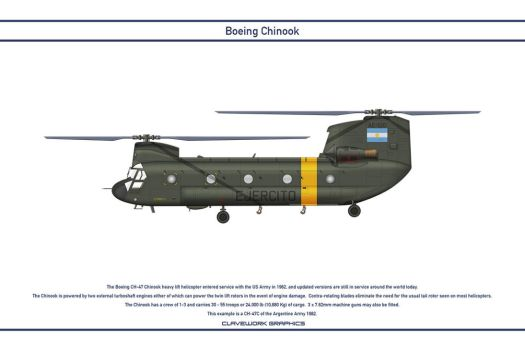 Chinook Argentina 1 by WS-Clave