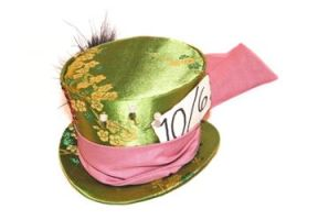 Mini Mad Hatter Hat Remade by Lolanova