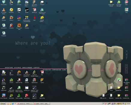 Weighted Companion Cube by sephizero
