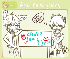 Ask Jace and/or Jax! by HokiMaru