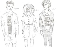 PJO in a Hipster version 3 by odairwho