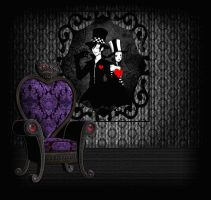 Dark Hearts Room by mysticmorning
