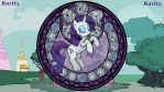 Wallpaper Stained Glass Rarity by Barrfind