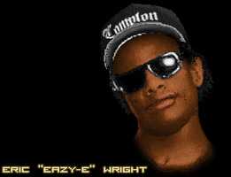 Eazy-E Pixel by Vectorixelz