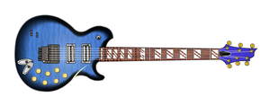 SunyLight XVII fictitious electric guitar by Thunderoad-Shyra