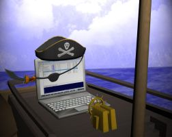 The Face of Modern Piracy by ImpetusKorin