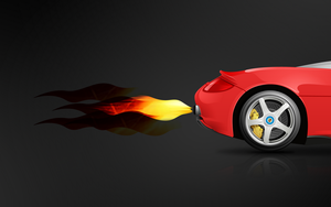 Carrera GT Red All Size by dstyler