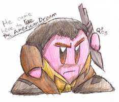 Niko Bellic Kirby by Triple-Q
