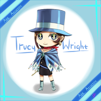 Chibi Trucy by GoldieAuvs