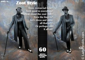 Gallery 76 'Zoot Style' by LadyArrakis