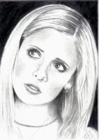 Buffy the Vampire Slayer ACEO by Dr-Horrible