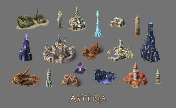 Props and buildings for maps by timur-kvasov