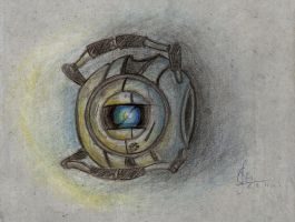 dorky little robot by artsytarts