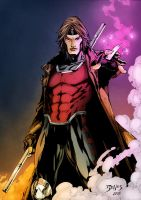 X-Men Gambit Colors by HueVille
