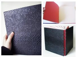 Handmade sketchbook for Micheal by Endless-Ness