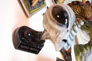 Alienus Greyness bust by BrittonsConcoctions
