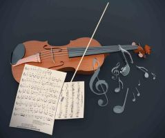Violin by CarisioFelipe