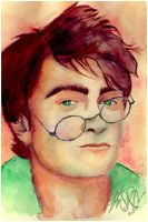 . harry potter painting . by ImprintedVampire
