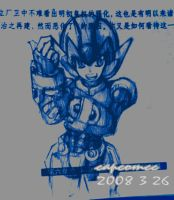Another Megaman by capcomcc