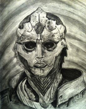 Thane Krios: Mass Effect by amanduhmarie00