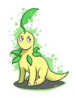 Bayleef keychain by ArorixLights