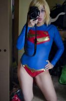 Supergirl New 52 Progress cosplay by Candustark