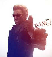 Bang Wesker by UmbrellaSpecter