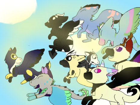 BIg Collab with Eclipse Done by Sylvewolf13