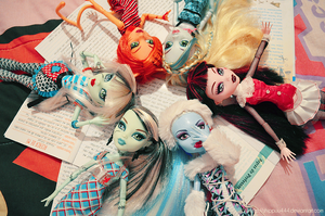 Monster High- My collection I by ShiVoodoo