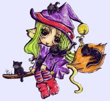 Cat Witch by Melonkitten