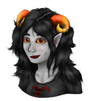 let's get real (with aradia) by Mylithia