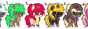 Pony Sparkle Adopts +CLOSED+ by PonyFuzz