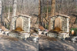 Grotto befor and after by richair