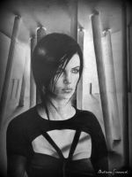 Charlize Theron - aeon flux by ChrisStoner