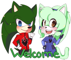 R: Welcome by buggingtin