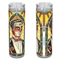 Muerto Groom Candle by NicholasIvins