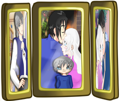 Picture frame of family #4 by HybridCatgirl995