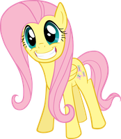 Smiley Fluttershy by mattyhex