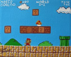 Super Mario Brothers World 1-1 25 by Zorias