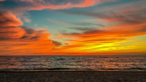 Lake Erie Sunset by Earth-Divine