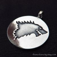 Silver House Stark pendant by Sulislaw